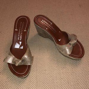 Donald J. Pliner Velma Wedge Sandals